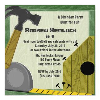 Building Fun Birthday Card