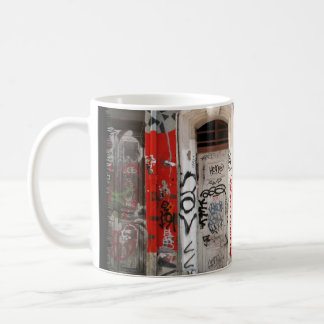 building graffitis coffee mug