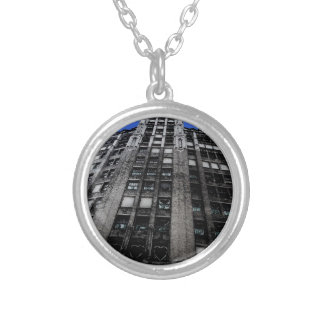 Building in Detroit Custom Necklace