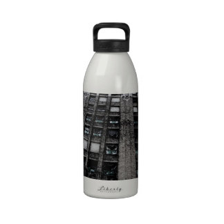 Building in Detroit Reusable Water Bottle