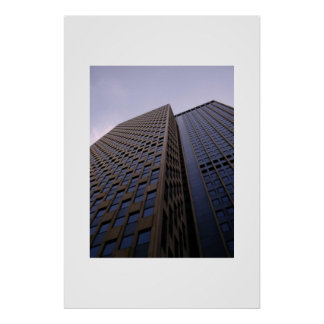 Building in New York City Poster