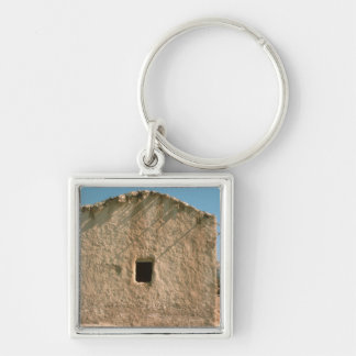 Building in Old Jericho Keychain