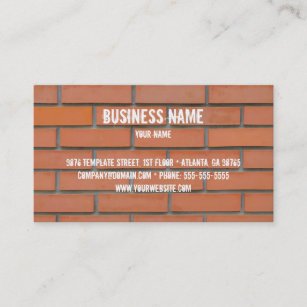 Building materials business cards zazzle building industry business card template flashek Image collections