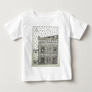 Building Inking by Piliero Baby T-Shirt