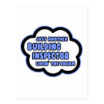 Building Inspector .. Livin' The Dream Postcard