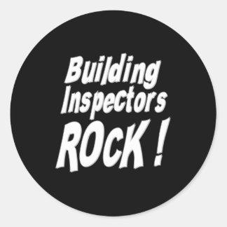 Building Inspectors Rock! Sticker