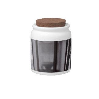 Building Lantern Candy Jar