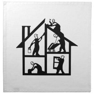 Building Logo Napkin