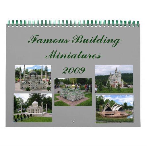 Building Miniature Calendar