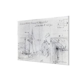 Building new houses canvas prints
