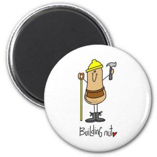 Building Nut Fridge Magnets