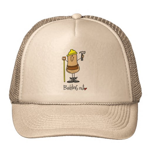 Building Nut T-shirts and Gifts Mesh Hat