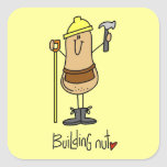 Building Nut T-shirts and Gifts Stickers