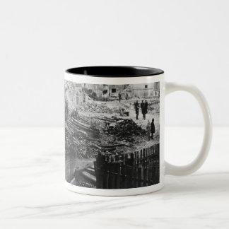 Building of Avenue de l'Opera Two-Tone Coffee Mug