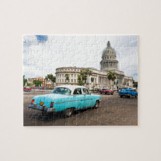 Building of Capitol in Havana Jigsaw Puzzle