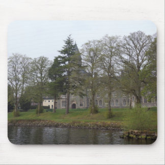 Building of St Benedict Abbey at the shore Mousepads