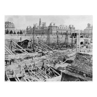 Building of the Hotel-Dieu, Paris, c.1866 Postcard