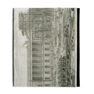 Building of the Main Entrance of the Louvre, Paris iPad Folio Case