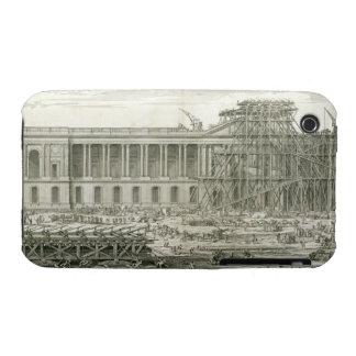 Building of the Main Entrance of the Louvre, Paris iPhone 3 Case-Mate Case