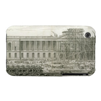 Building of the Main Entrance of the Louvre, Paris iPhone 3 Case-Mate Cases