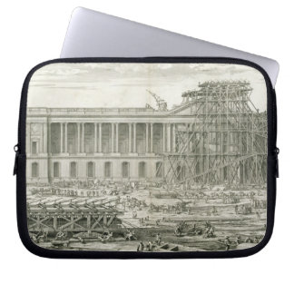 Building of the Main Entrance of the Louvre, Paris Laptop Computer Sleeves