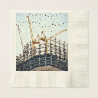 building paper napkin