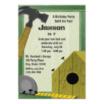 Building Party 5x7 Paper Invitation Card