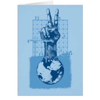 Building Peace Blue Gift Card