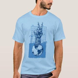 Building Peace Blue T-Shirt