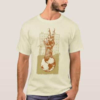 Building Peace Brown Natural T-Shirt