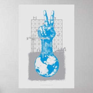 Building Peace Gray Print