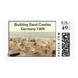 Building Sand Castles 2 Germany 1905 Postage Stamps
