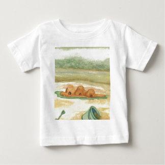 Building Sand Castles CricketDiane Art & Design Baby T-Shirt
