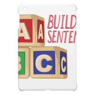 Building Sentences iPad Mini Cases