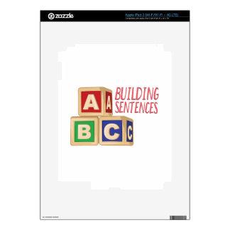 Building Sentences Skins For iPad 3