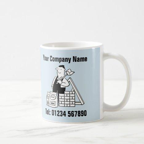 Building Services Cartoon Mug