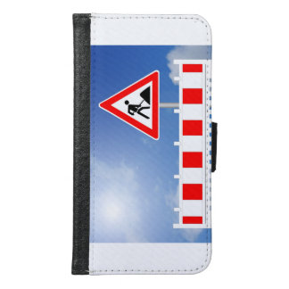 Building site, building site closing and building wallet phone case for samsung galaxy s6
