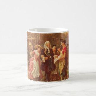 Building the Cradle of Liberty Jean Gerome Ferris Coffee Mug