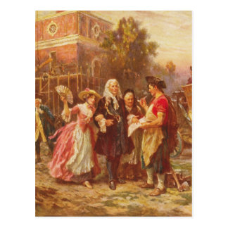 Building the Cradle of Liberty Jean Gerome Ferris Postcards