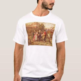 Building the Cradle of Liberty Jean Gerome Ferris T-Shirt