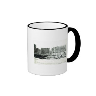 Building the New Gallery of the British Museum Coffee Mug