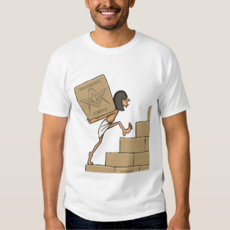 Building the Temple T-shirts