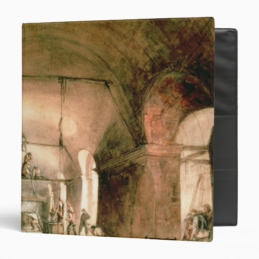 Building the Thames Tunnel, , c.1830 3 Ring Binders