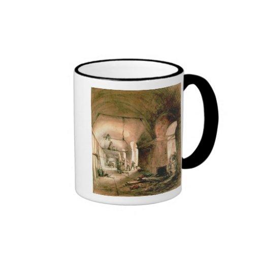 Building the Thames Tunnel, , c.1830 Mug