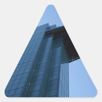 Building Triangle Sticker
