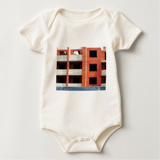 Building under construction baby bodysuit