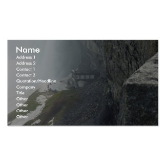 Building Under Niagara Falls Business Card Template
