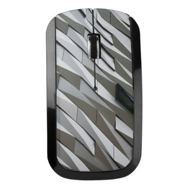 Building wall pattern wireless mouse