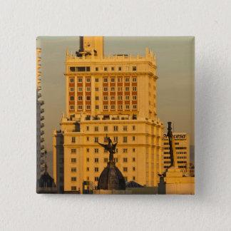 Buildings along Gran Via and Edificio Espana Button