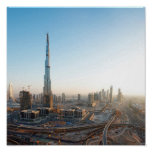 Buildings Along Sheikh Zayed Road, Dubai 2 Poster